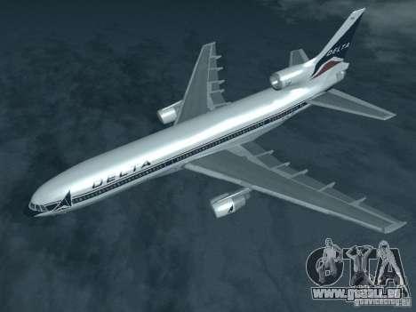 L1011 Tristar Delta Airlines pour GTA San Andreas