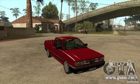 VW Saveiro GL 1989 pour GTA San Andreas vue arrière