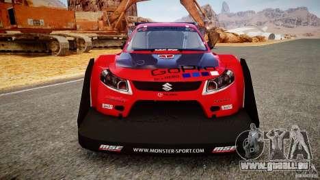 Suzuki Monster SX4 pour GTA 4 Vue arrière