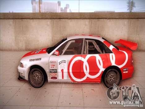 Audi S4 Galati Race für GTA San Andreas linke Ansicht