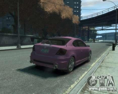 Toyota Scion Tc 2.4 für GTA 4 rechte Ansicht