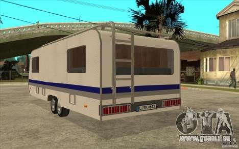 Trailer für den Renault Avantime für GTA San Andreas zurück linke Ansicht