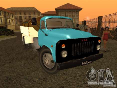 GAZ 53 Milch tanker für GTA San Andreas