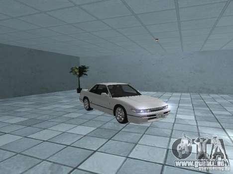 Nissan Silvia PS13 pour GTA San Andreas vue intérieure