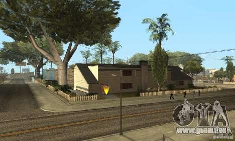 Grove Street 2013 v1 für GTA San Andreas sechsten Screenshot