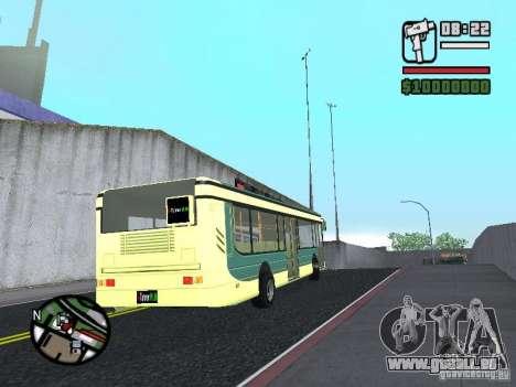 XTunnerHUN Team Man pour GTA San Andreas sur la vue arrière gauche
