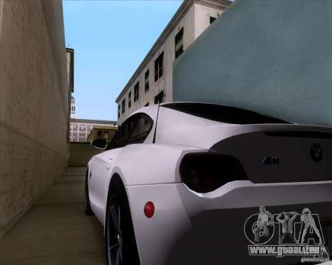 BMW Z4 M Coupe pour GTA San Andreas vue de côté