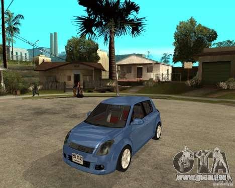2007 Suzuki Swift pour GTA San Andreas