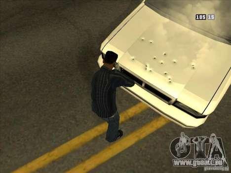 Löcher von Kugeln für GTA San Andreas her Screenshot