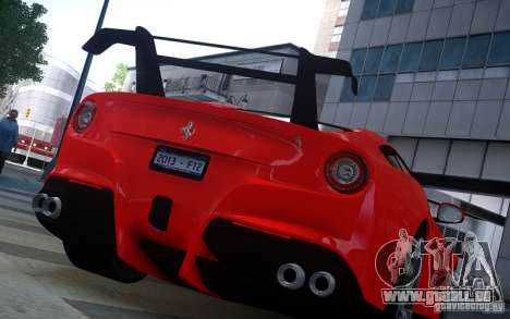 Ferrari F12 Berlinetta 2013 Knoxville Edition für GTA 4 hinten links Ansicht