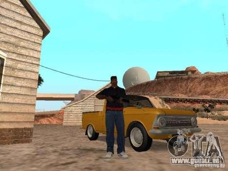 Armes à feu dans le coffre pour GTA San Andreas