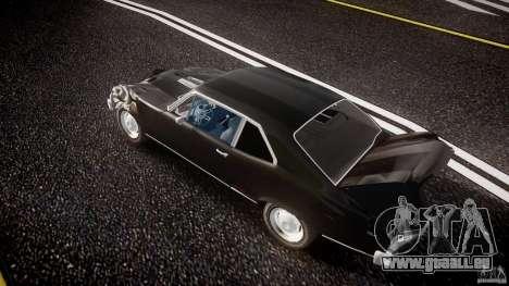 Chevrolet Nova 1969 für GTA 4 Unteransicht
