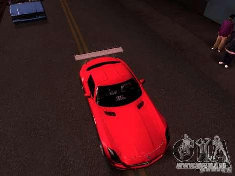 Mercedes-Benz SLS AMG für GTA San Andreas Rückansicht