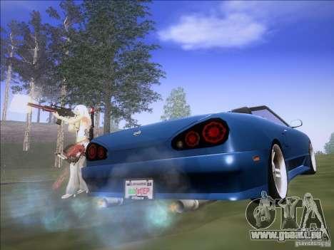 Elegy Cabrio Edition für GTA San Andreas zurück linke Ansicht