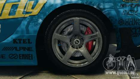 Mazda RX-7 RE-Amemiya pour GTA 4 est un côté