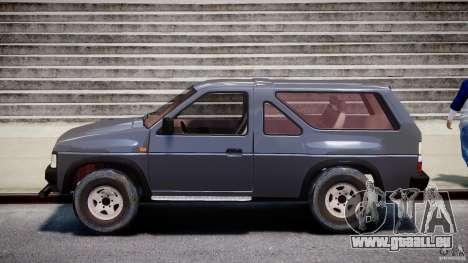 Nissan Terrano pour GTA 4 est une gauche