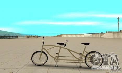 double classic MT Bike für GTA San Andreas linke Ansicht