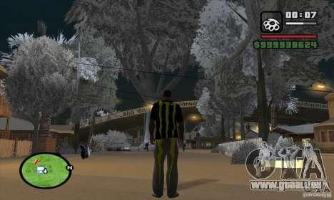 Monster energy suit pack pour GTA San Andreas deuxième écran