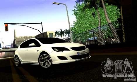 Opel Astra Senner pour GTA San Andreas vue intérieure