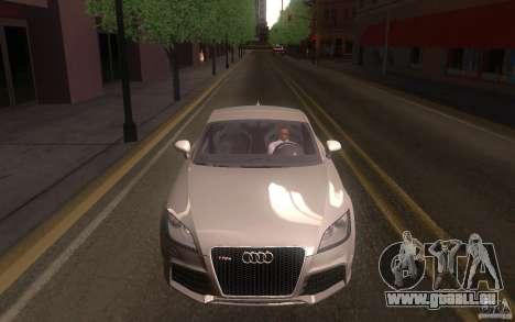 Audi TT RS pour GTA San Andreas vue arrière