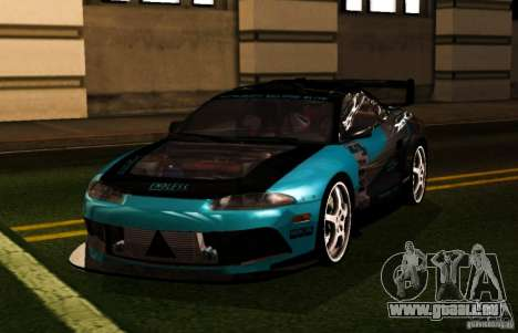 Mitsubishi Eclipse Elite pour GTA San Andreas vue de droite