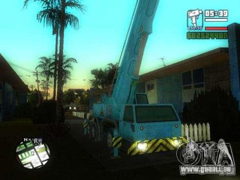 Split Second - Static Truck pour GTA San Andreas