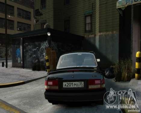 Volga gaz 3110 pour GTA 4 est une gauche