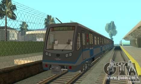 4 Rusich train pour GTA San Andreas laissé vue