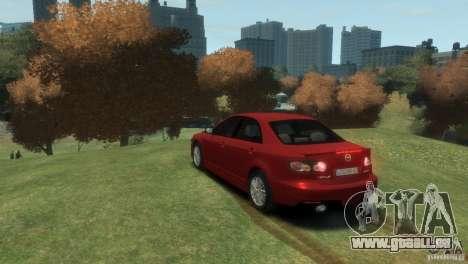 Mazda 6 MPS pour GTA 4 est une gauche