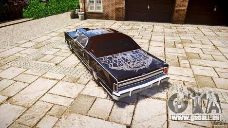 Lincoln Continental Town Coupe v1.0 1979 für GTA 4 hinten links Ansicht
