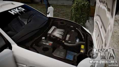 Mitsubishi 3000GT ST für GTA 4 Rückansicht