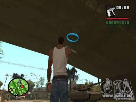 Portal Gun pour GTA San Andreas deuxième écran