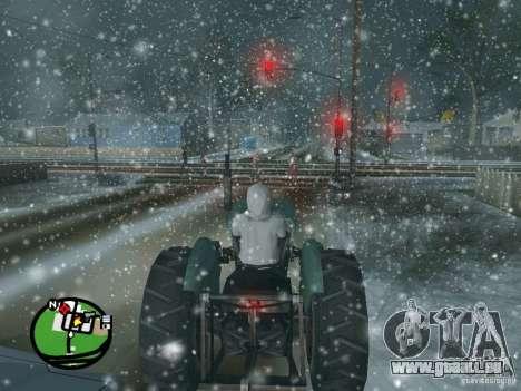 Schneefall für GTA San Andreas