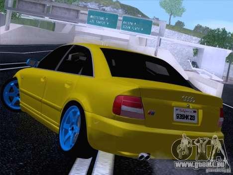 Audi S4 DatShark 2000 pour GTA San Andreas laissé vue
