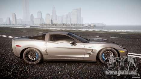 Chevrolet Corvette ZR1 2009 v1.2 für GTA 4 Seitenansicht