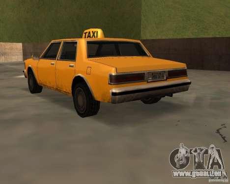 LV Taxi für GTA San Andreas linke Ansicht
