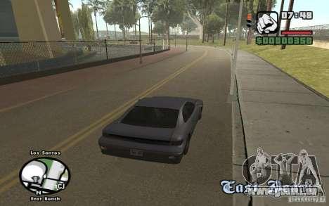 Noms de rue sur le radar pour GTA San Andreas quatrième écran