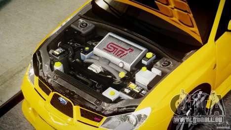 Subaru Impreza STI pour GTA 4 est un droit