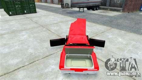 Jupiter Eagleray MK5 v.1 pour GTA 4 vue de dessus