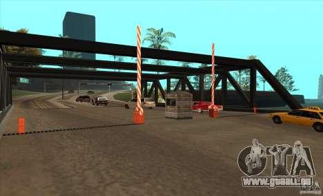Itinéraire v1.0 pour GTA San Andreas troisième écran