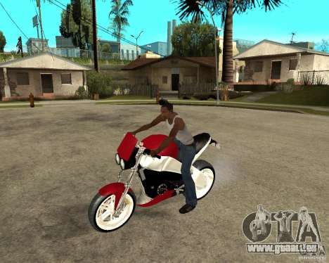 Buell LighTuning 1200 pour GTA San Andreas