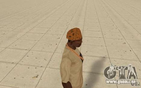 Bandana maryshuana pour GTA San Andreas deuxième écran