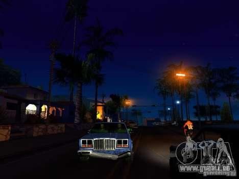 Graphique des versions console pour GTA San Andreas quatrième écran