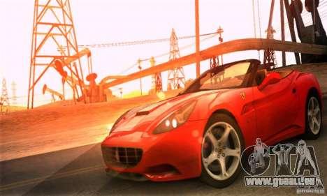 Ferrari California V3 für GTA San Andreas