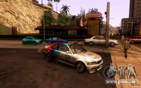 BMW M3 E46 für GTA San Andreas Innen