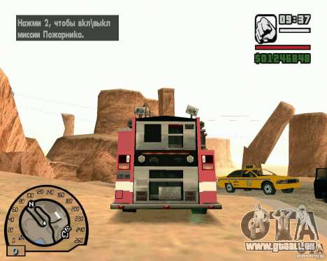 IV High Quality Lights Mod v2.2 für GTA San Andreas zweiten Screenshot
