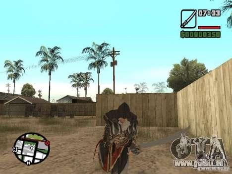 Schwert Ezio für GTA San Andreas her Screenshot