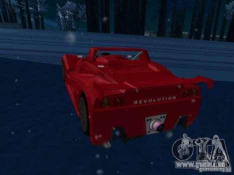 Lada Revolution pour GTA San Andreas vue de droite