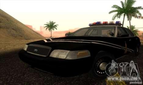 Ford Crown Victoria Idaho Police pour GTA San Andreas