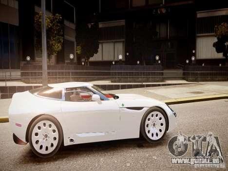 Alfa Romeo TZ3 Stradale Zagato pour GTA 4 est une vue de l'intérieur
